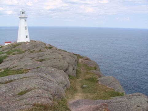 Modern light house at Cape spear