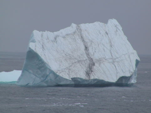 Icebergs drift by Newfoundland every spring on their trek from the Arctic