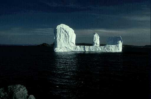 Concetion Bay Iceberg