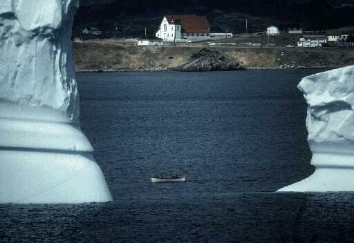 Big IceBergs, Little Boat
