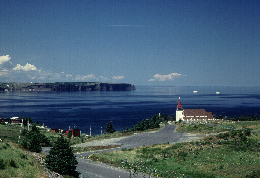 Bell Island in Background
