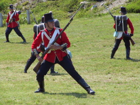 Please come and visit Signal Hill National Historic site and watch the Tattoo perform